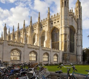 King's College, Cambridge on a sunny day