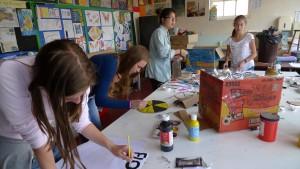 Arts and Crafts at Barnardiiton Hall