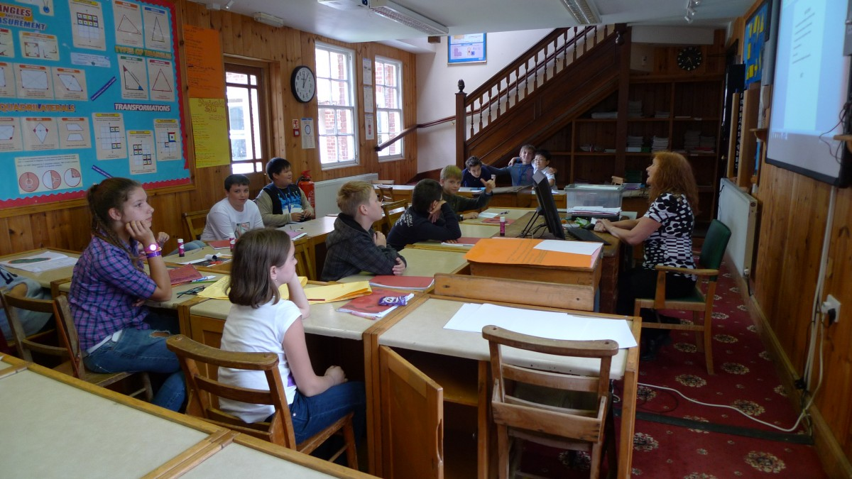 Classroom at Barnardiston Hall