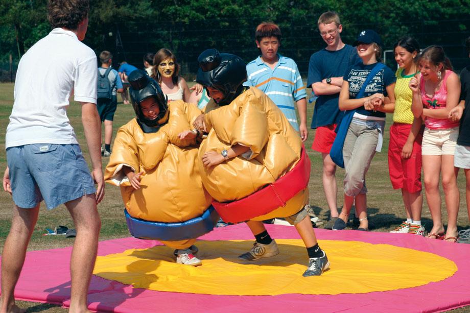 Sumo Wrestling Activity at Barnardiston Hall