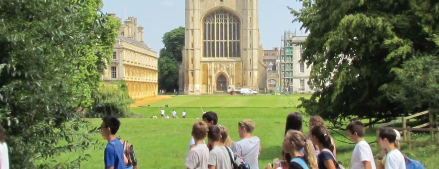 Cambridge Juniors English Language Course Cambridge - residential and homestay