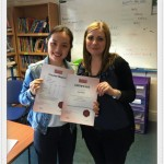 Student review: Teaching Jobs - presenting final certificate - IELTS