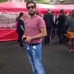 Saif - our favourite poser - student BBQ