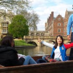 Punting in Cambridge - beautiful