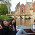 Punting in Cambridge - post card