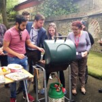 Staff BBQ - Everybody wants food!