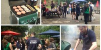 Student BBQ for end of term