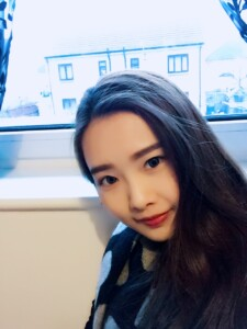 A photo of Monica, an English student from China.