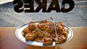Chelsea buns - a traditional British food