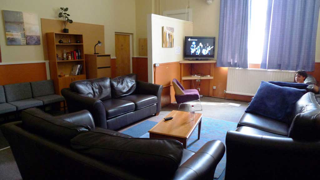 Common Room at Friends' School Summer Camp