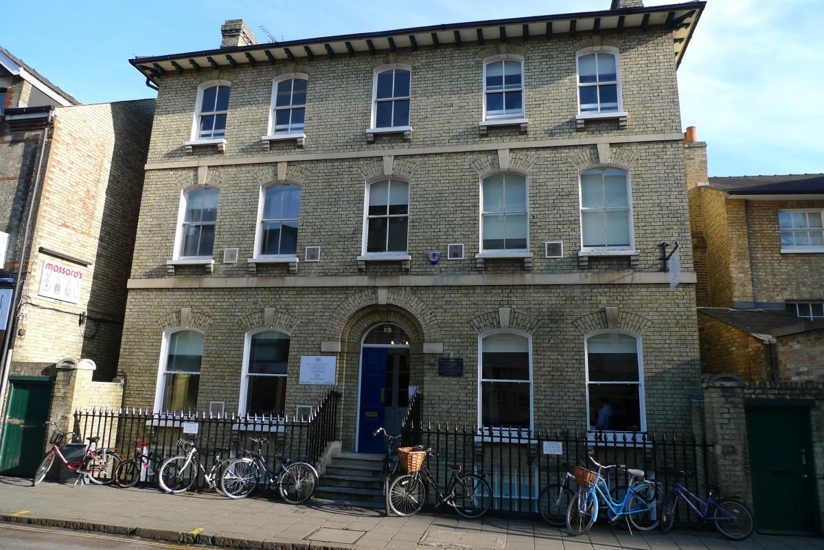 Regent Street School in Cambridge City Centre