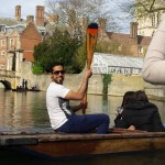 Punting in Cambridge - Saif