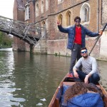 Punting day in Cambridge